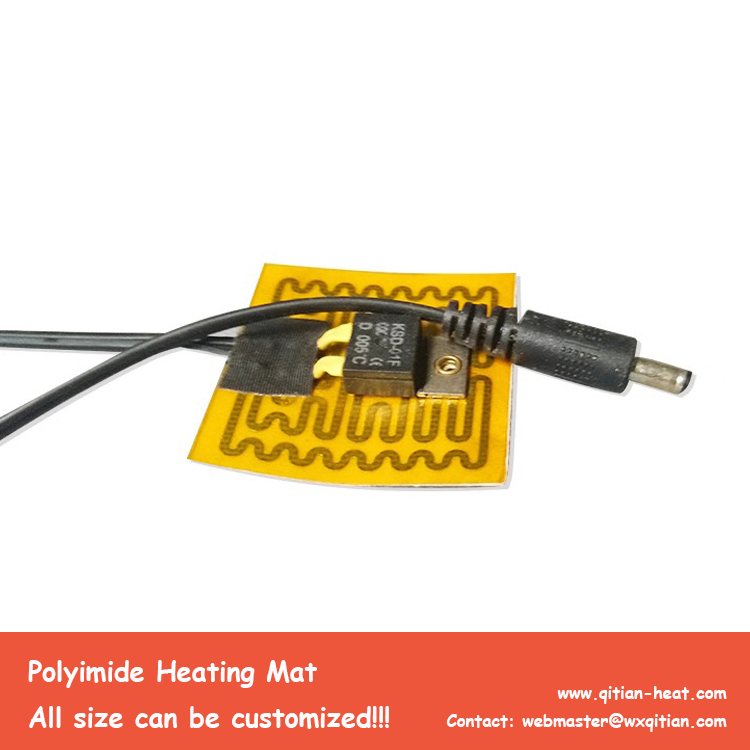 Small Size Polyimide Heater